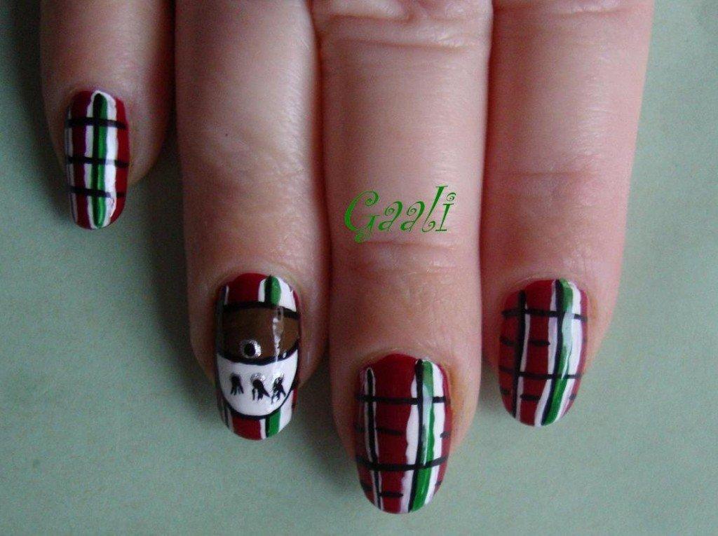 2013 avril 07 les d buts d 39 une nail art addict for Pourquoi ecossais portent kilt