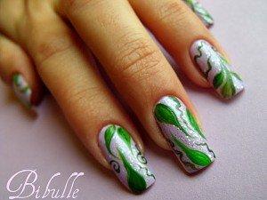nail-art-bibulle-onglepassion-feuilles-8-300x225 fleurs blanche